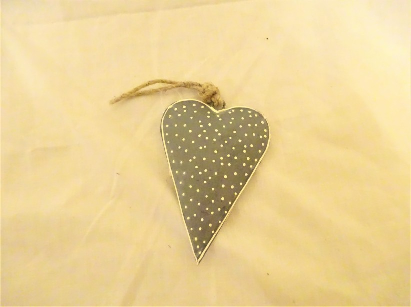 Hanging Polka Dot Heart