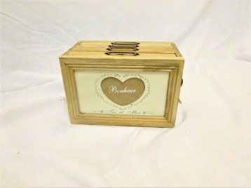 Photos, Box, Heart, Shabby