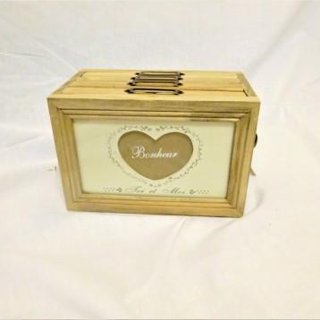Photos, Box, Heart, Shabby
