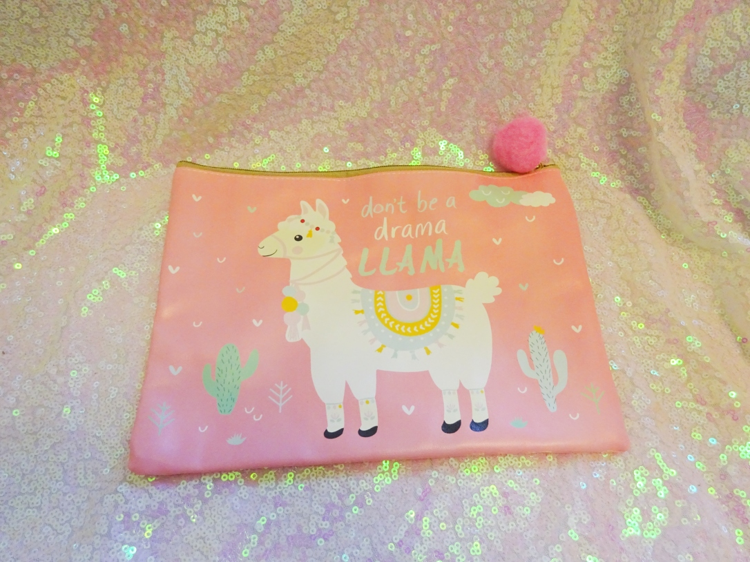 Llama, Pink, Pom Pom